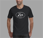 "Zon Guitars ""Vintage"" Black T-shirt"